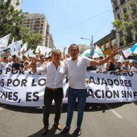 """Sergio Sasia: """"Volvimos a Perón. Era necesario"""""""