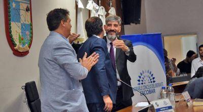 Juraron los concejales electos y Luis Carranza es el nuevo presidente del Concejo