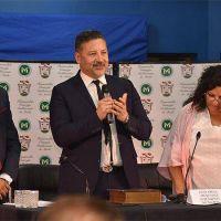 Menéndez asumió su segundo mandato al frente del gobierno de Merlo