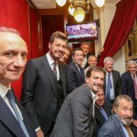 Nardini presente en la asunción del presidente Fernández