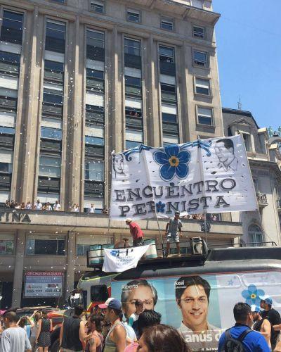 El calor y la fiesta popular en la asunción de Alberto Fernández
