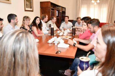 """Concejales se reunieron con Arturo Rojas: """"Este primer acercamiento es parte de lo que viene"""""""