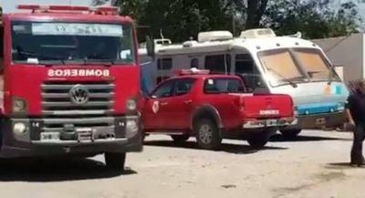 Neuquén: simulacro de derrame de combustible