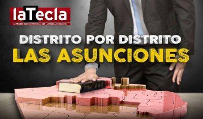 Distrito por distrito, las asunciones