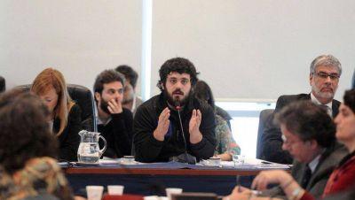 Diputados: Tignanelli reemplaza a Saintout y presidirá el bloque oficialista
