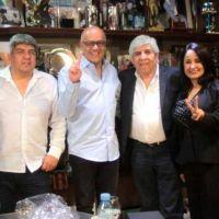 Moyano y Hebe de Bonafini se reunieron con el ministro de Maduro que generó controversia en la asunción de Alberto Fernández