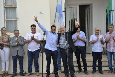 El intendente Jorge Paredi puso en funciones a los delegados de las localidades de Mar Chiquita