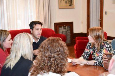 Arturo Rojas y la secretaria de Salud se reunieron con los profesionales de CICOP