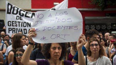 Denuncian que despidieron a 10 docentes en la escuela ORT por causas gremiales