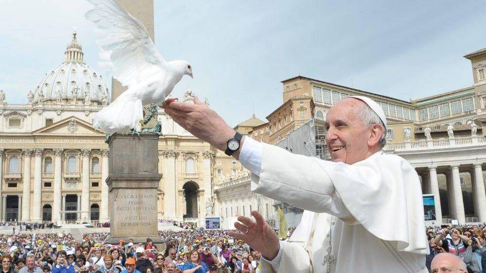 """Mensaje del Papa por la paz: """"un bien precioso al que aspira toda la humanidad"""""""