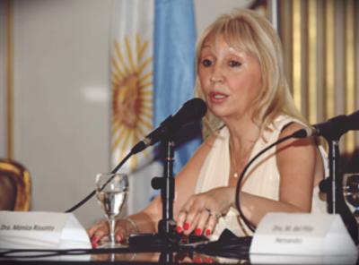 La abogada de Taxistas quedó al frente de la Dirección Nacional de Asociaciones Sindicales