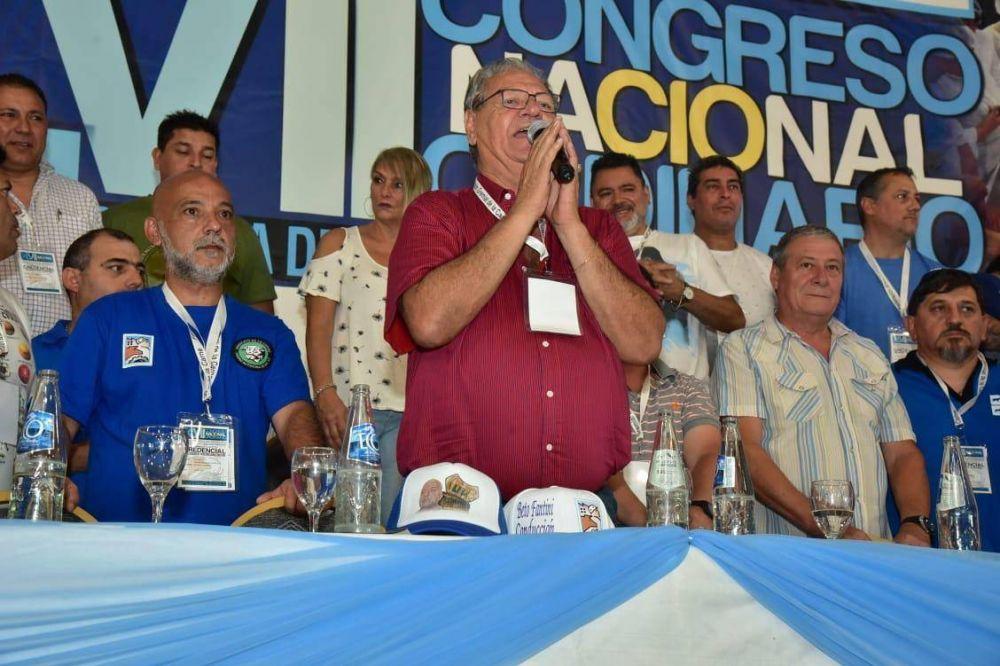 """Fantini: """"Nunca resignaremos nuestra perseverante lucha en pos de proteger y acompañar a los trabajadores"""""""