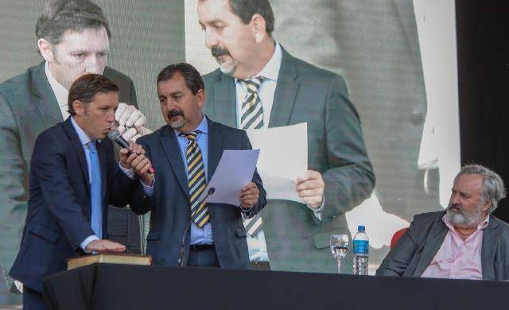Jaime Méndez asumió como intendente de San Miguel