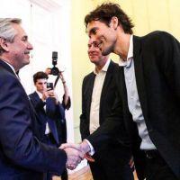 Alberto Fernández recibió a ejecutivo de Google y hablaron del programa de contenidos educativos