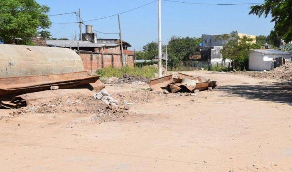 Colapso pluvial: Antes de Navidad quedará habilitado el tránsito en avenida Romero