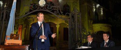 """«Tenemos grandes desafíos por delante"""", dijo Bordet en Concordia"""