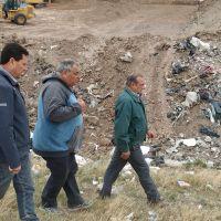 Sánchez visitó la planta de reciclado local y la de Bellocq