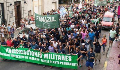 De Isasi respaldó la inciativa de Agustín Rossi de reactivar Fanazul