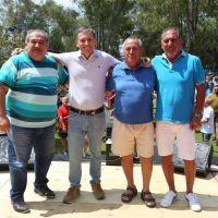 Esteban Echeverría: el intendente Gray visitó instituciones sociales y celebró fin de año