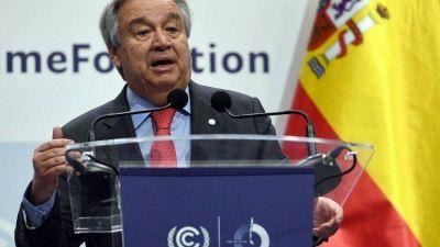 El Secretario General de la ONU: Francisco nos ayuda a promover la paz