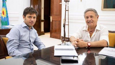 Axel y Duhalde se reunieron para discutir temas productivos