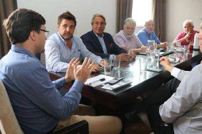 Morón: Lucas Ghi recibió al presidente de la UIO