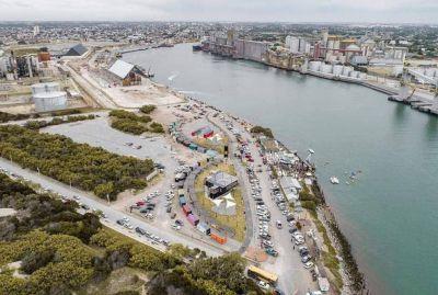 Todo listo para la inauguración del paseo gastronómico portuario