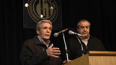 La CGT rechazó los actos violentos en UTA y respaldó a Roberto Fernández