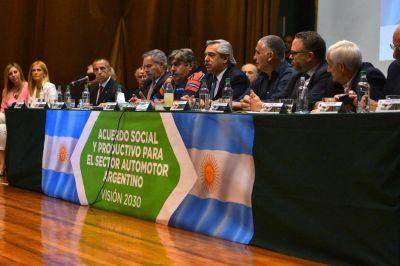 SMATA dio el puntapié inicial del pacto social que pidió Alberto Fernández