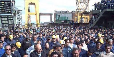 Trabajadores del Astillero Río Santiago celebraron nuevas autoridades y salen a buscan financiación