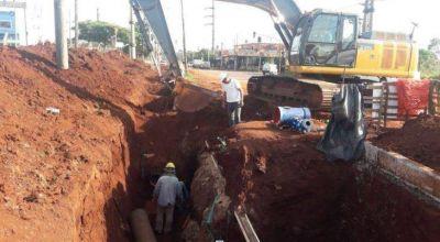 Realizarán trabajos de empalme para mejorar la red de agua potable en la zona Sur de Posadas