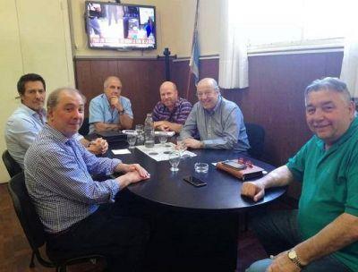 El intendente Jorge Paredi se reunió con autoridades de EDEA