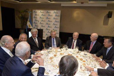 Alberto Fernández convocó a la elite empresarial a participar del Consejo Económico y Social