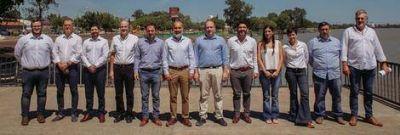 El Intendente presentó su nuevo gabinete en la Costanera