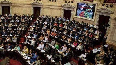 La Cámara de Diputados le dio media sanción al proyecto de ley de Emergencia Económica