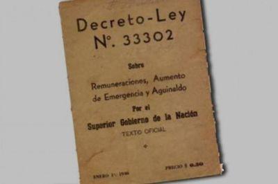 Se conmemora otro aniversario de la creación del aguinaldo en Argentina