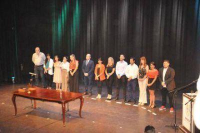 La vicegobernadora tomó juramento a más de 80 funcionarios provinciales