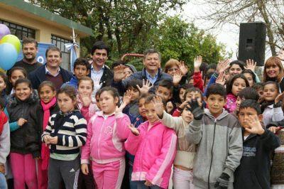 """Quedó inaugurado el Centro de Vida Familiar """"La Alborada"""" en Puerto Tirol"""