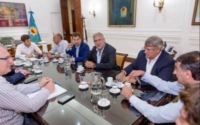 En plena conformación de su Gobierno, Axel Kicillof recibió a dirigentes del Frente Renovador