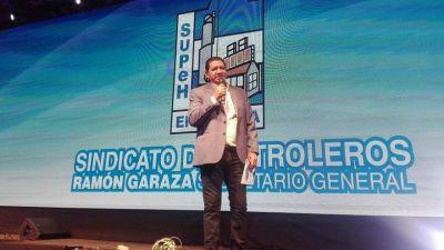 Garaza encabezó los festejos del 75º aniversario de la filial SUPeH Ensenada