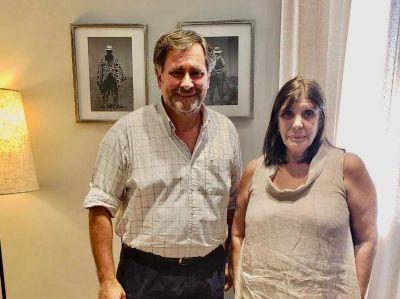 El intendente Federico se reunió con la ministra de gobierno bonaerense