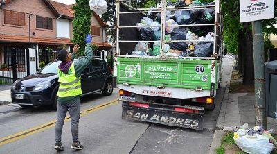 Servicios de recolección y día verde