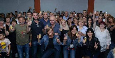 El Frente Renovador - Todos de Lanús despidió el 2019 con un gran brindis