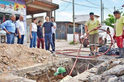 Jornada integral de limpieza en barrios del distrito