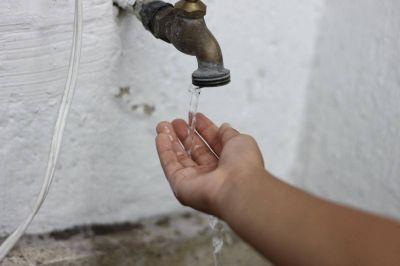 Por un bomba, varios barrios están sin agua hasta la tarde