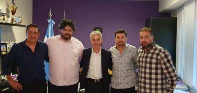 Aeronavegantes recibió en su sede central al Ministro de Transporte Mario Meoni