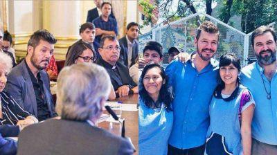 Tinelli político: rol de difusor en la comisión contra el hambre y presencia en el Conurbano