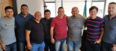 Sanzio recibió a dirigentes del Frente de Todos Campana