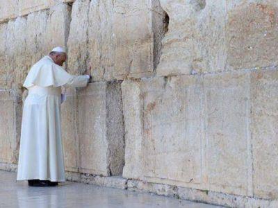 El Papa Francisco visitaría nuevamente Israel a fines del 2020