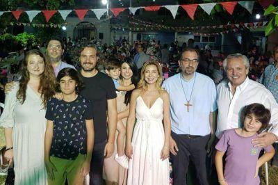 La íntima decisión de Alberto Fernández de pasar Navidad en la iglesia de San Cayetano